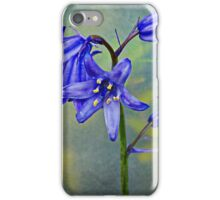 A stem of Bluebells iPhone Case/Skin
