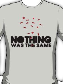 Drake - Nothing Was The Same Logo Mashup T-Shirt