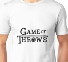 Game of Throws (black) Unisex T-Shirt