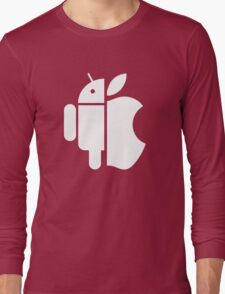Apple and Android // No clear winner Long Sleeve T-Shirt