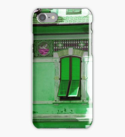 Green house iPhone Case/Skin