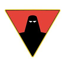 Space Ghost Emblem Photographic Print