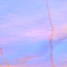 Contrails & Clouds #2 by Laurie Minor