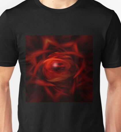 Red Fire Sphere Unisex T-Shirt