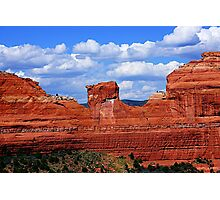 Red rock of Sedona Photographic Print