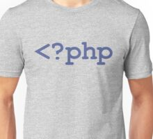 PHP Open Tag Unisex T-Shirt