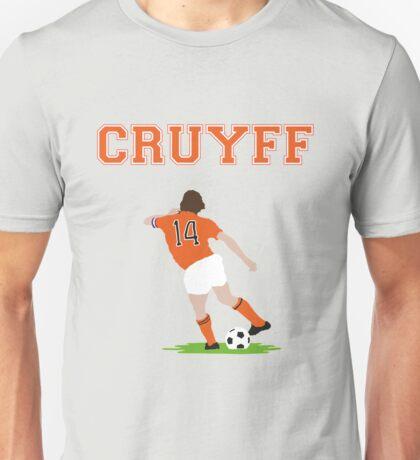 Johan Cruyff 'Turn' Vector Graphic Unisex T-Shirt