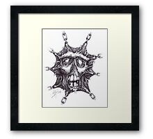 Stretched Zombie 2014 Framed Print