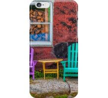 Chairs of West Dover iPhone Case/Skin