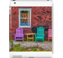 Chairs of West Dover iPad Case/Skin