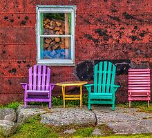 Chairs of West Dover by kenmo