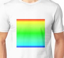 Color Gradient - Blue | Cyan | Green | Yellow | Red Unisex T-Shirt