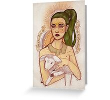 Gods & Monsters Greeting Card