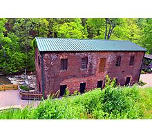 Old Mill Roswell, Ga. Photographic Print