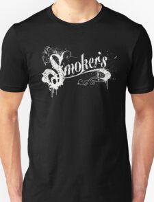Smokers tattoo wording T-Shirt