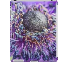 Macro Purple Flower iPad Case/Skin