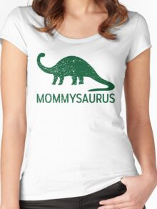 Mommysaurus Women's Fitted Scoop T-Shirt
