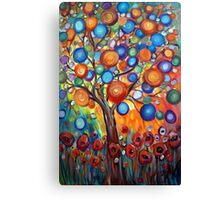 Sunset Garden Canvas Print