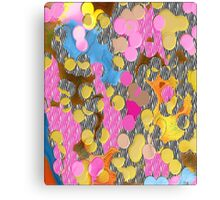Dot to Unknown Abstract Canvas Print