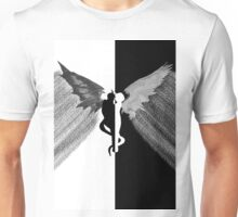 Forbidden love (angel and demon) Unisex T-Shirt