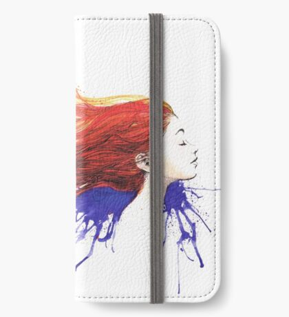 The Redhead iPhone Wallet/Case/Skin