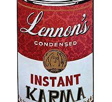 John Lennons Instant Karma  by DanWilkinson