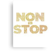 Non-Stop Lyrical Canvas Print