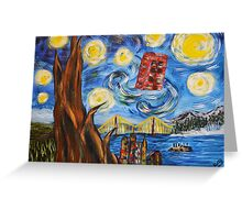 Starry In San Francisco Greeting Card