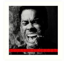 chris rock the tour 2017-total blackout Art Print