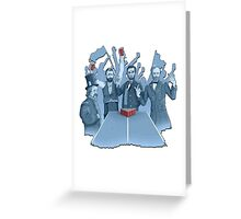 History in the making Greeting Card