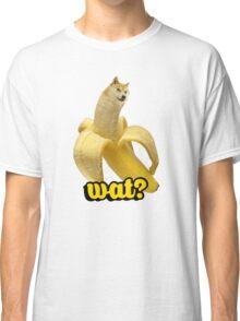 Doge banana dog shibe shiba inus wat? Classic T-Shirt