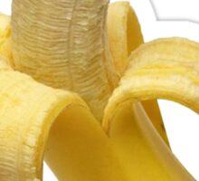 Doge banana dog shibe shiba inus wat? Sticker