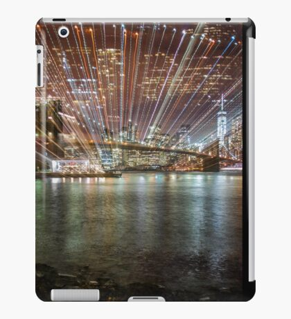 City Warp and Shoes iPad Case/Skin