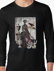 Carnivorous Orchid Long Sleeve T-Shirt