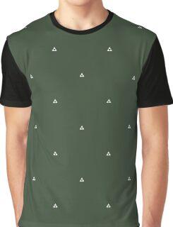 Zelda Triforce Pattern Graphic T-Shirt
