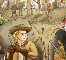 Buffalo Bill And Standing Buffalo Sticker