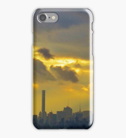 New York City Clouds iPhone Case/Skin