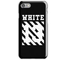Off-White 13 (Black) iPhone Case/Skin