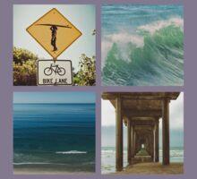 Surfer Girl Paradise Kids Tee