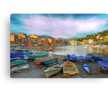 Bay of Silence Canvas Print