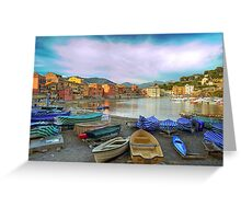 Bay of Silence Greeting Card