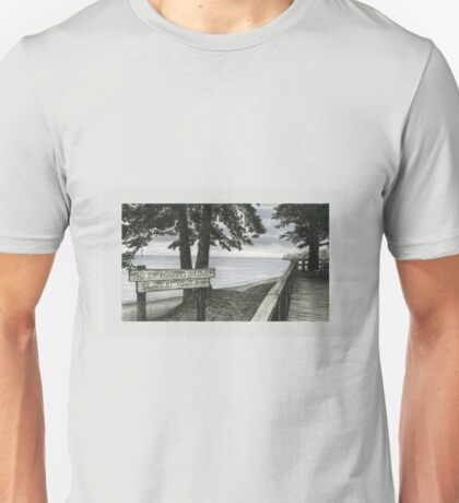No Lifeguard on Duty Unisex T-Shirt