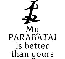 My Parabatai is Better than Yours Photographic Print