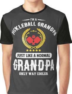 Pickleball Grandpa Graphic T-Shirt