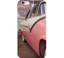 Outside Mel's Diner iPhone Case/Skin
