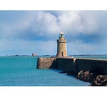 Lighthouse at Saint Peter Port,  Guernsey. Photographic Print