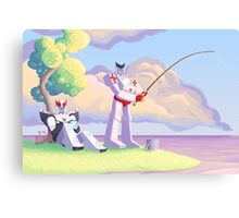 Ratchet and Prowl's Vacation Canvas Print