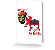 MAJOR LAZER & RAS RAKAS Greeting Card