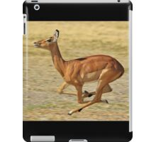 Impala - Speed and Muscles  iPad Case/Skin