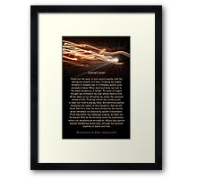 Contact Point Framed Print